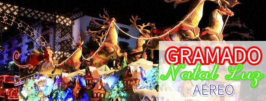 Natal Luz em Gramado - Aéreo 2015